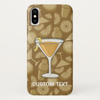 Sidecar Cocktail iPhone X Case
