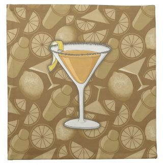 Sidecar cocktail napkin