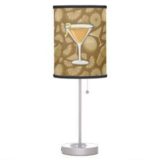 Sidecar cocktail table lamp
