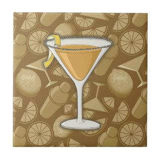 Sidecar cocktail tile