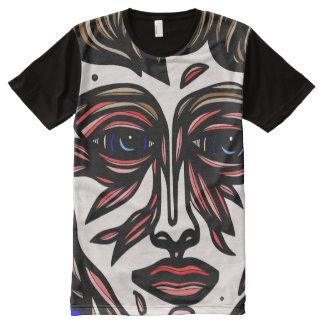 Sidener Abstract 631 Art American Apparel Men's Sh All-Over-Print T-Shirt