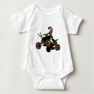 Sidesaddle Not Included Baby Bodysuit