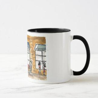 Sidewalk Cafe Painting Mug