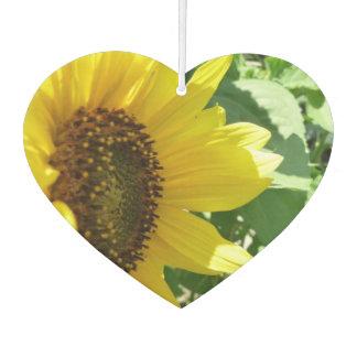 Sideways Sunflower Air Freshener