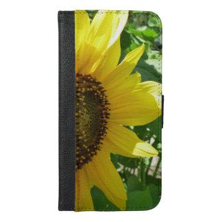 Sideways Sunflower iPhone 6/6s Plus Wallet Case