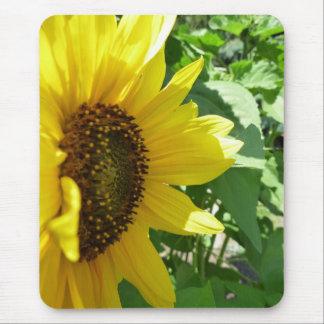 Sideways Sunflower Mouse Pad