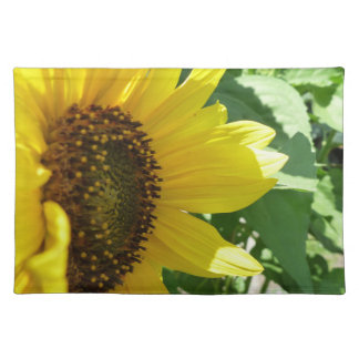 Sideways Sunflower Placemat