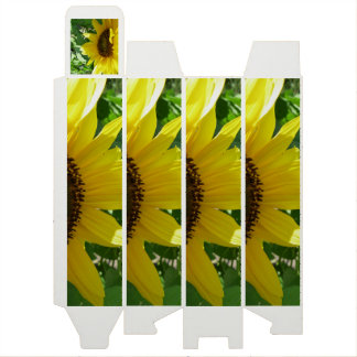 Sideways Sunflower Wine Box