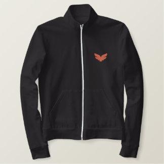 Sidhe Mens Embroidered AA Fleece Zip Jogger Jacket