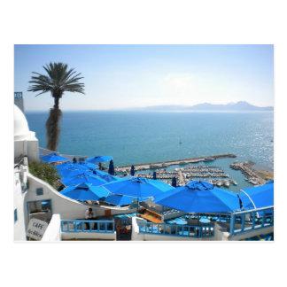 Sidi Bou Said Tunisia Postcard