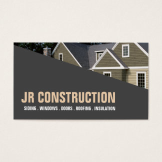 SIDING  WINDOWS  DOORS  ROOFING  INSULATION BUSINESS CARD