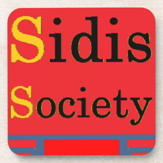 Sidis Society store Coaster