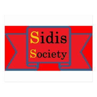 Sidis Society store Postcard