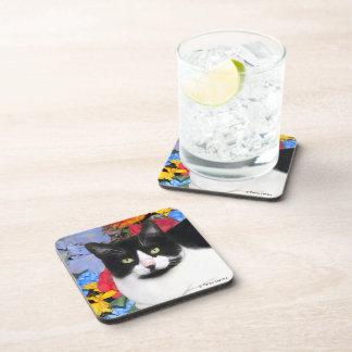 """Sidney"" Cat Coaster Set"