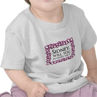 Sidney Crosby Sign Shirt