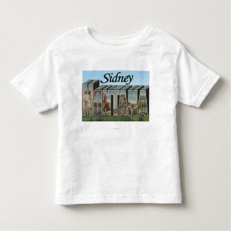 Sidney, Montana Toddler T-shirt