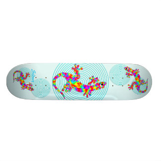 Sidney Salamander Aqua Skateboard Deck