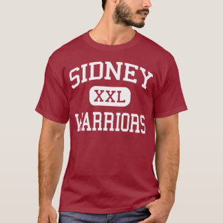 Sidney - Warriors - High School - Sidney New York T-Shirt