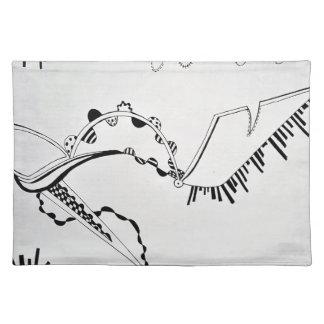 SieCel Fashion Shoe Drawing Print Placemat