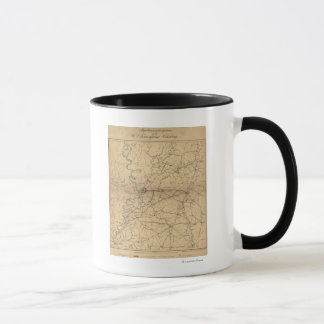 Siege of Vicksburg - Civil War Panoramic Map 2 Mug