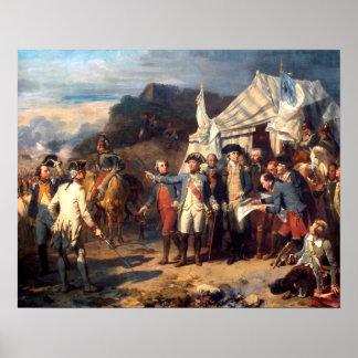 Siege of Yorktown, Art Print