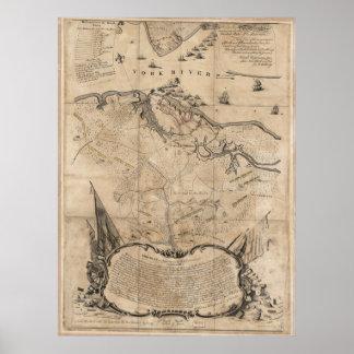 Siege of Yorktown Poster