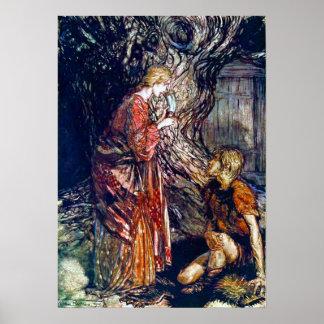 Siegmund and Sieglinde Poster