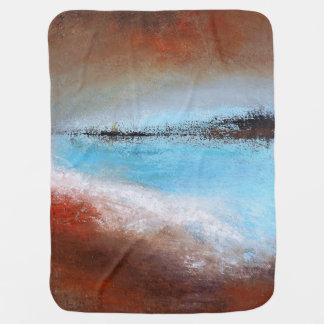 Siena Turquoise Baby Blanket