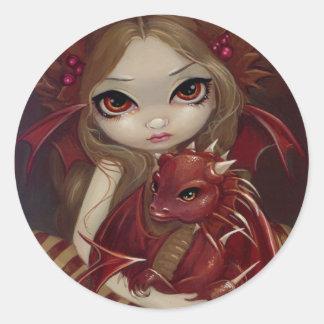 """""""Sienna Dragonling"""" Sticker"""