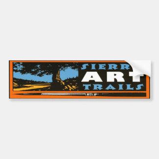 Sierra Art Trails Bumpersticker Bumper Sticker