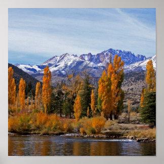 Sierra Autumn Poster