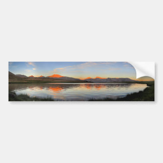 Sierra Crest Sunset - John Muir Trail Bumper Sticker