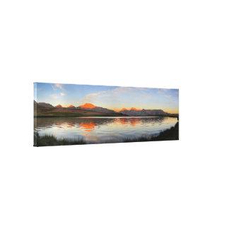Sierra Crest Sunset - John Muir Trail Canvas Print