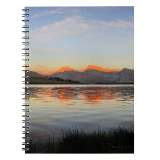 Sierra Crest Sunset - John Muir Trail Notebooks