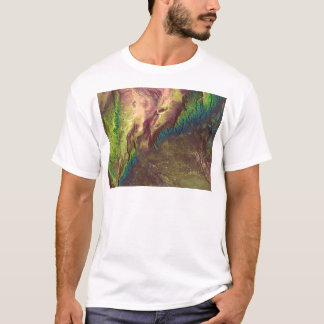 Sierra de Velasco Satellite Image T-Shirt