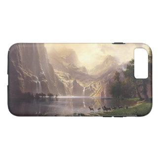 Sierra Deer Waterfall Lake Wilderness iPhone  Case