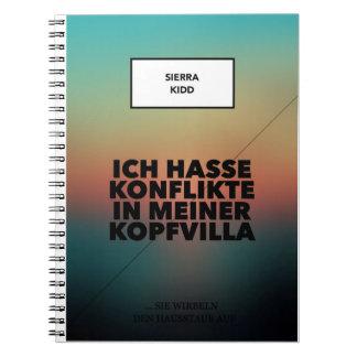 Sierra Kidd note book