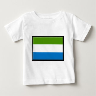 Sierra Leone Flag Baby T-Shirt