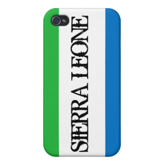 Sierra Leone flag iPhone 4 case