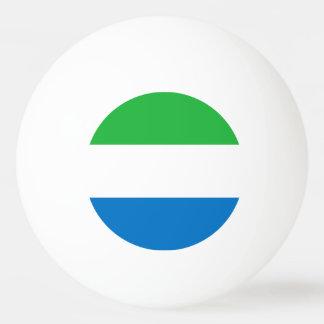 Sierra Leone Flag Ping Pong Ball
