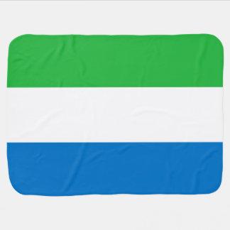 Sierra Leone Flag Stroller Blanket