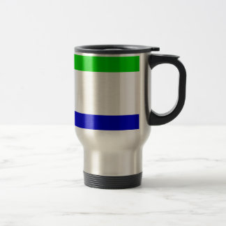 Sierra Leone Flag Travel Mug