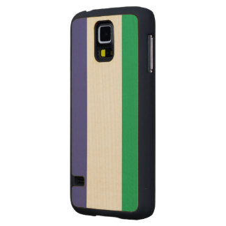 Sierra Leone Flag Maple Galaxy S5 Slim Case