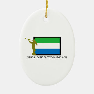 SIERRA LEONE FREETOWN MISSION LDS CTR CERAMIC ORNAMENT