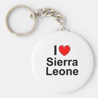Sierra Leone Keychain
