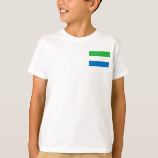 Sierra Leone National World Flag T-Shirt