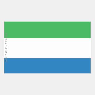 Sierra Leone Plain Flag