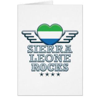 Sierra Leone Rocks v2 Card