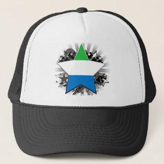 Sierra Leone Star Trucker Hat