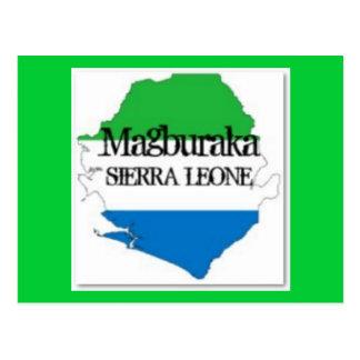 SIERRA LEONE  T-SHIRT AND ETC(magburaka) Postcard